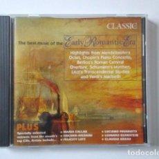 CDs de Música: THE BEST MUSIC OF THE EARLY ROMANTIC ERA, LA MEJOR MÚSICA DE LA ERA ROMÁNTICA TEMPRANA, AÑO 2000. Lote 72313043