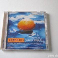 CDs de Música: JEREMY HEALY´S, CLOCKWORK ORANGE MIX, MINISTRY, CD HOUSE, BREAKBEAT, UK GARAGE, AÑO 2000. Lote 72321423