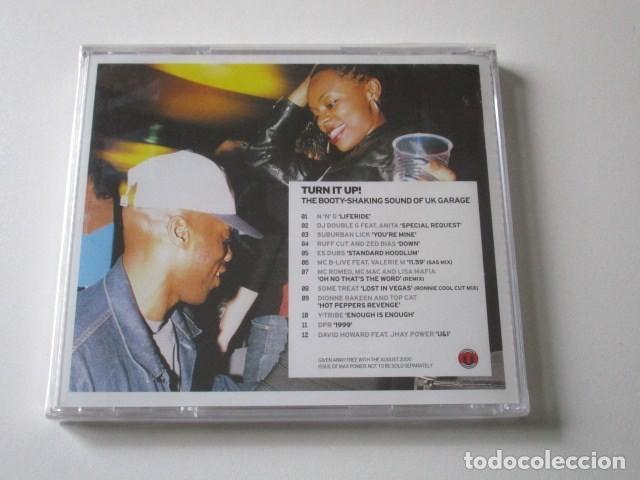 CDs de Música: TURN IT UP, THE BOOTY-SHAKING SOUND OF U.K. GARAGE, CD EDITADO EN REINO UNIDO, AÑO 2000 - Foto 2 - 72323923