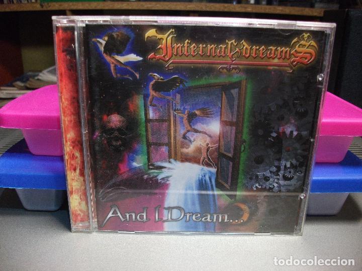 INFERNAL DREAMS - AND I DREAMS... - CD 1999 - GUARDIANS OF METAL - MELODIC DEATH METAL COMO NUEVO¡¡ (Música - CD's Heavy Metal)