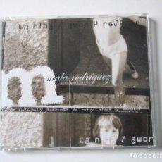 CDs de Música: LA MALA RODRÍGUEZ, CD SINGLE LA NIÑA / AMOR Y RESPETO, AÑO 2003, MUY RARO. Lote 72336879