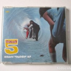 CDs de Música: 5 SOUND, HEAVY TRANSIT EP, CD EDITADO EN REINO UNIDO, AÑO 1998. Lote 72343843