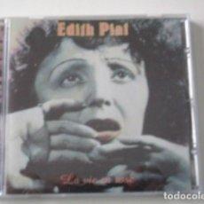 CDs de Música: EDITH PIAF, LA VIE EN ROSE, LA VIDA EN ROSA, CD EDITADO EN ITALIA EN EL AÑO 1998. Lote 72344531
