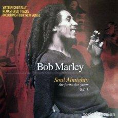 CDs de Música: BOB MARLEY - SOUL ALMIGHTY - THE FORMATIVE YEARS VOL. 1 [COMPILADO]. Lote 72205465
