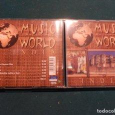 CDs de Música: INDIA - MUSIC AROUND THE WORLD - CD 7 TEMAS . Lote 72438279