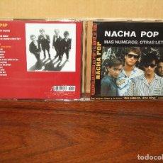 CDs de Música: NACHA POP - ALBUM MAS NUMEROS, MAS LETRAS +4 CANCIONES EXTRAS - CD . Lote 72754751