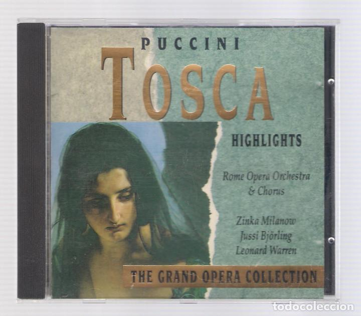 CDs de Música: PUCCINI - Tosca (CD 1992, The Grand Opera Collection, Symphony SYCD 6159 G) - Foto 1 - 72756911