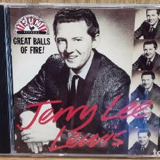 CDs de Música: JERRY LEE LEWIS. GREAT BALLS OF FIRE. CD / SUN RECORDS - 1989 / 30 TEMAS / CALIDAD LUJO.. Lote 72798427