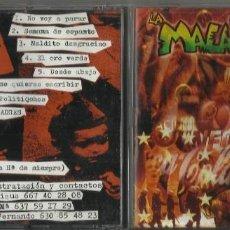 CDs de Música: LA MALAOSTIA CD QUIEN TE GOBIERNA . Lote 72877811