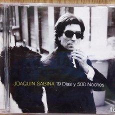 CDs de Música: JOAQUIN SABINA. 19 DÍAS Y 500 NOCHES. CD / BMG-ARIOLA - 1999. 13 TEMAS / CALIDAD LUJO.. Lote 72894639