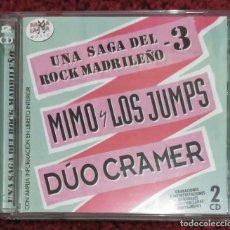 CDs de Música: RAMALAMA - MIMO Y LOS JUMPS - DUO CRAMER (UNA SAGA DEL ROCK MADRILEÑO 3) 2 CD'S. Lote 72909559