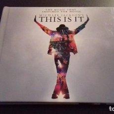CDs de Música: MICHAEL JACKSON THIS IS IT. 2 CDS. 2009.. Lote 72922799