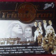 CDs de Música: LOS QUE TRIUNFARON-ANTOLOGIA DEL POP ESPAÑOL- 2 CDS EN TAPA DE CARTÓN . Lote 72926083