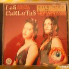 CDs de Música: LAS CARLOTAS VERSIONES ORIGINALES -COLISEUM - 1998 - CD. Lote 73028119