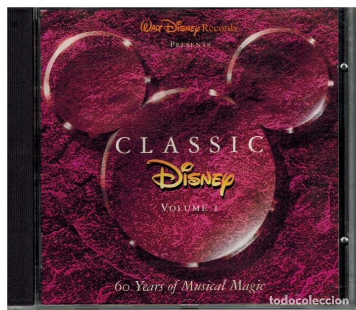 CD CLASSIC DISNEY - VOLUMEN 1 (Música - CD's Bandas Sonoras)