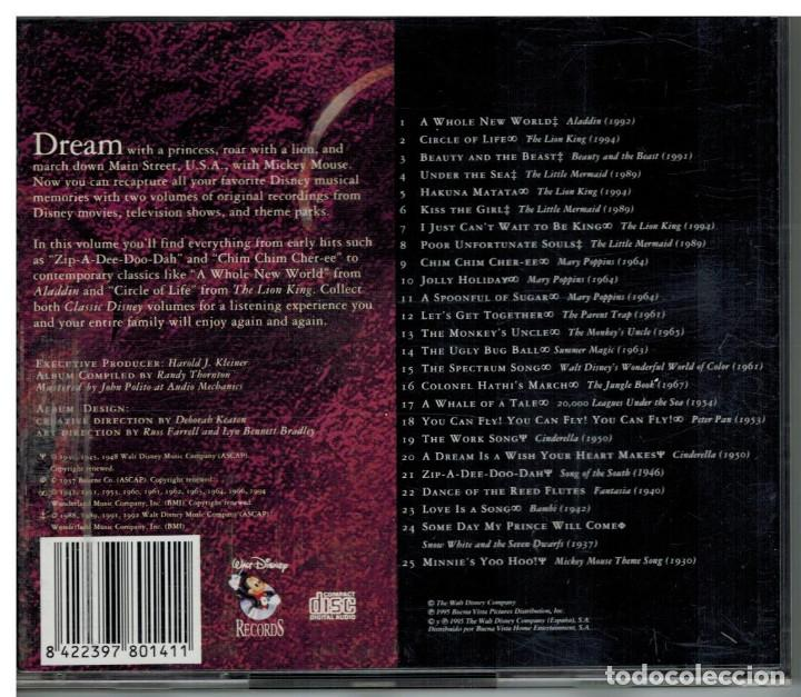 CDs de Música: CD CLASSIC DISNEY - VOLUMEN 1 - Foto 2 - 73304895