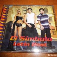 CDs de Música: EL SIMBOLO LATIN BEAT REMIXES CD ALBUM DEL AÑO 2002 CONTIENE 15 TEMAS. Lote 73386623