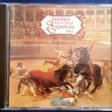 CDs de Música: ANTOLOGÍA DE LA CANCIÓN ESPAÑOLA VOL. 1. CONCHA PIQUER, JUANITA REINA, ESTRELLITA CASTRO. Lote 73456399