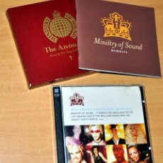 CDs de Música: ESTUCHE DE DOBLE CD ALBUM + LIBRETO: MINISTRY OF SOUND - THE ANNUAL II - AÑO 1996. Lote 73456723