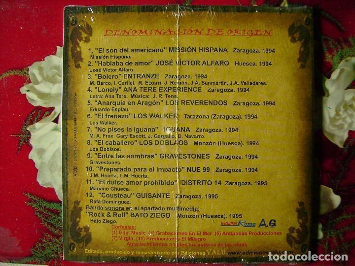 LOS REVERENDOS-DISTRITO 14-MISSION HISPANA..DENOMINACION DE ORIGEN..PRECINTADO...ARAGON (Música - CD's Rock)