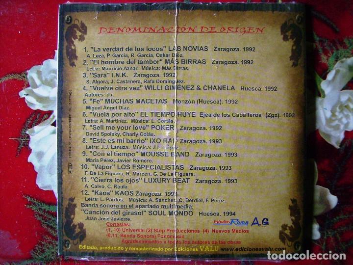 MAS BIRRAS-LAS NOVIAS-IXO RAI-ESPECIALISTA.DENOMINACION DE ORIGEN.ARAGON...PEDIDO MINIMO 5€ (Música - CD's Rock)