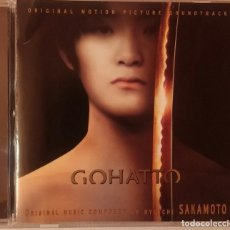 CDs de Música: GOHATTO - RYUICHI SAKAMOTO - CD OST / BSO / BANDA SONORA / SOUNDTRACK. Lote 73511083