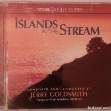 CDs de Música: ISLANDS IN THE STREAM (LA ISLA DEL ADIOS) - JERRY GOLDSMITH - PRECINTADO - INTRADA - CD OST / BSO. Lote 73511227