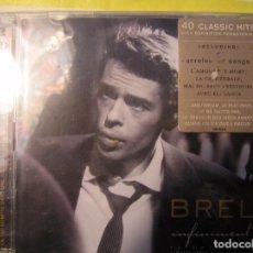 CDs de Música: BREL INFINIMENT 2003 BARCLAY - 2 CDS - CD. Lote 73548431