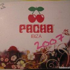CDs de Música: PACHA IBIZA 2007 - CD+DVD - UNIVERSAL 2007 - CD. Lote 73559071