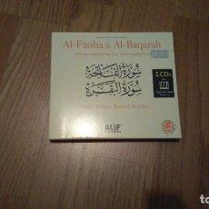 CDs de Música: AL-FATIHA & AL-BAQARAH, COMPILATION. Lote 73579127