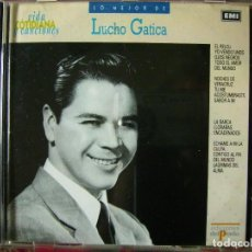 CDs de Música: LUCHO GATICA.LO MEJOR...PEDIDO MINIMO 5€. Lote 73620591