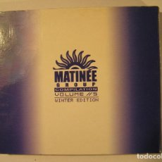 CDs de Música: MATINEE GROUP COMPILATION VOLUMEN 5 WINTER EDICION - MATINEE RECORDS - 2 CDS - CD. Lote 73645939