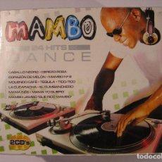 CDs de Música: MAMBO 24 HITS DANCE - 2 CDS - OK RECORDS. S.L. - CD. Lote 73647527