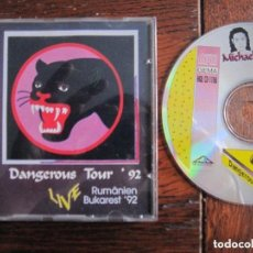 CDs de Música: MICHAEL JACKSON ` DANGEROUS TOUR 92 LIVE RUMANIA. RARO DIRECTO. Lote 73659311