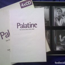 CDs de Música: PALATINE. CAJA RECOPILATORIA DEL SELLO FACTORY 1979-1990. 4 CDS. JOY DIVISION, DURUTTI COLUMN ETC. Lote 73661443