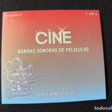 CDs de Música: BANDAS SONORAS DE PELICULAS 2 CDS. Lote 73719555