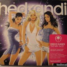 CDs de Música: HEDKANDI THE MIX - 3 CDS - WWW.HEDKANDI.COM2007 - CD. Lote 73738719