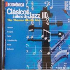 CDs de Música: THE THOMAS HARDIN TRIO. CLASICOS A RITMO DE JAZZ. VOL II. CD ACTUALIDAD ECONOMICA. Lote 133968254
