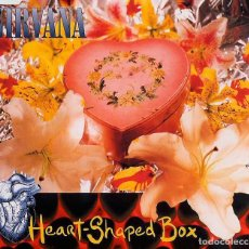 CDs de Música: NIRVANA - HEART-SHAPED BOX [CD SINGLE]. Lote 72203229