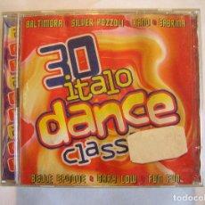 CDs de Música: 30 ITALO DANCE CLASSICS - 1997 DISKY COMUNICATIONS EUROPE - 2 CDS - CD. Lote 73953851