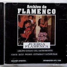 CDs de Música: ARCHIVO DE FLAMENCO. JUERGA FLAMENCA. CD. AÑO: 1992. BUEN ESTADO. COMPLETO.. Lote 74000015