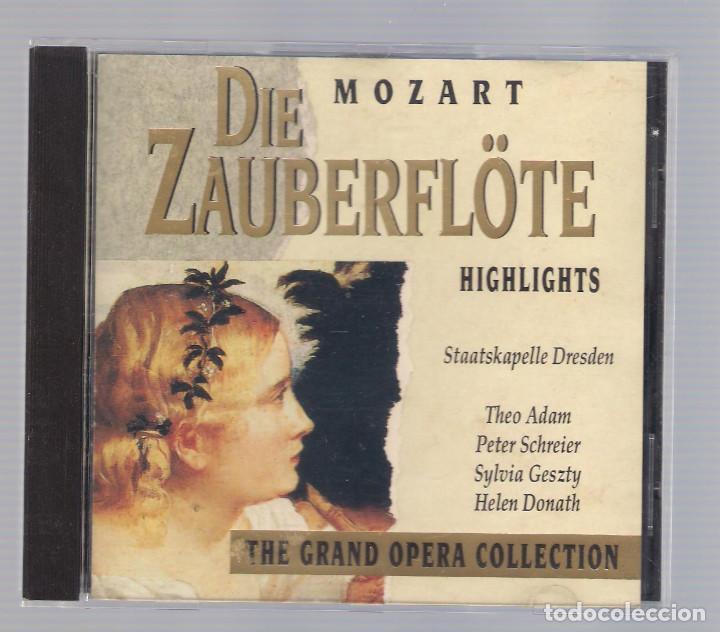 MOZART - DIE ZAUBERFLÖTE (CD 1992, THE GRAND OPERA COLLECTION, SYMPHONY SYCD 6162 G) (Música - CD's Clásica, Ópera, Zarzuela y Marchas)
