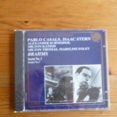 CDs de Música: PABLO CASALS, STERN, MILTON THOMAS, MADELINE FOLEY. BRAHMS. SEXTET Nº1 PRECINTADO CBS 1988. Lote 74081119