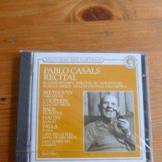 CDs de Música: PABLO CASALS RECITAL. BEETHOVEN, COUPERIN, BACH, HAYDN, FALLA. CANT DEL OCELLS. CBS 1991 PRECINTADO. Lote 74081595