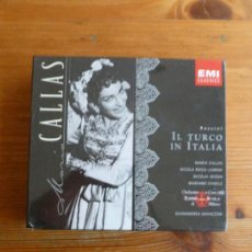 CDs de Música: UL TURCO IN ITALIA. ROSSINI. TEATRO SCALA. 1955 -1997 EMI. DOBLE CD. PRECINTADO.. Lote 74082619