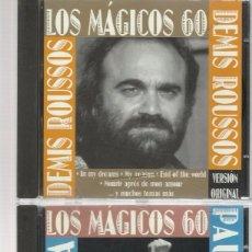 CDs de Música: LOS MÁGICOS 60 PAUL ANKA +DEMIS ROUSSOS. Lote 74099599