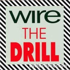 CDs de Música: WIRE - THE DRILL. Lote 74120479