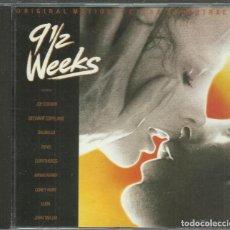 CDs de Música: VV.AA. - 9 1/2 WEEKS - CD CAPITOL 1986 - NUEVE SEMANAS Y MEDIA. Lote 74174507