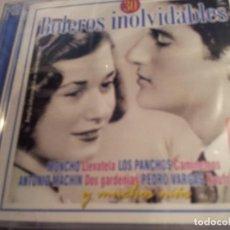 CDs de Música: 30 BOLEROS INOLVIDABLES -2 CD ( PRECINTADO ). Lote 74183139