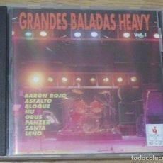 CDs de Música: GRANDES BALADAS HEAVY VOL. 1 - CD - 1991. Lote 74183327